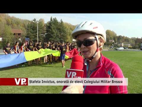 Ștafeta Invictus, onorată de elevii Colegiului Militar Breaza