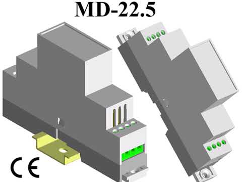 Modular Din Rail Enclosures MD-22.5