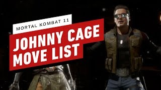 Mortal Kombat 11 - Johnny Cage Move List Breakdown