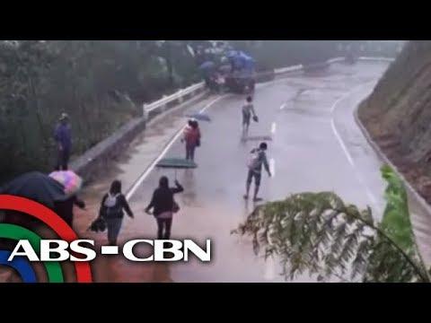 [ABS-CBN]  TV Patrol: Ilang kalsada sa Cordillera, di madaanan dahil sa landslide