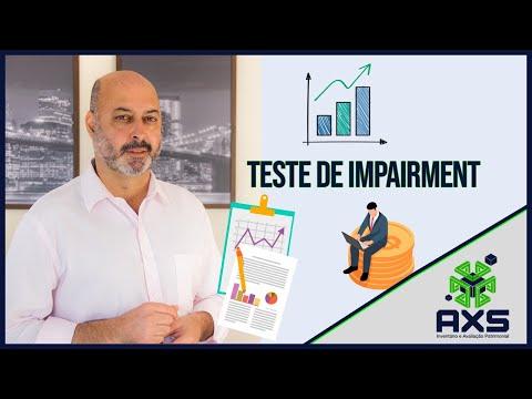 Teste de Impairment Consultoria Empresarial Passivo Bancário Ativo Imobilizado Ativo Fixo
