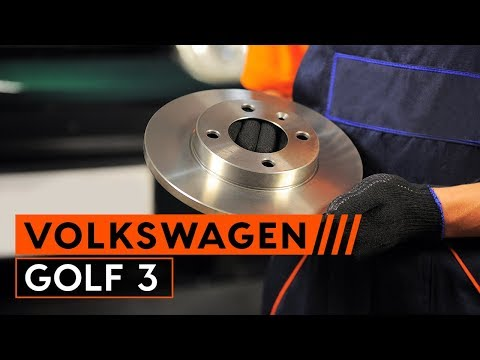 Wie VW GOLF 3 Bremsscheiben wechseln [TUTORIAL AUTODOC]
