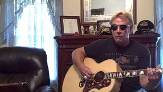 Dave playing Blue Umbrella, by John Prine (2)