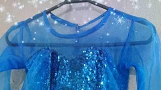 DIY Frozen Elsa Costume Design L Finished Product