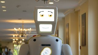 video: World's most advanced 'social robot' hosts Bingo lessons in British care home