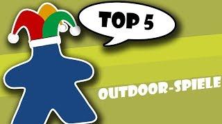 Top 5 Outdoorspiele / Spiele für draußen