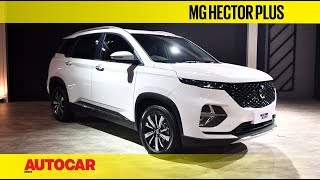 Auto Expo 2020 - MG Hector Plus | Walkaround | Autocar India