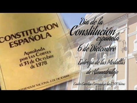 Día de la Constitución y Medallas de Almendralejo