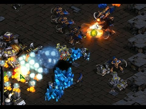 Last (T) v Zero (Z) on Circuit Breakers - StarCraft  - Brood War REMASTERED 2019