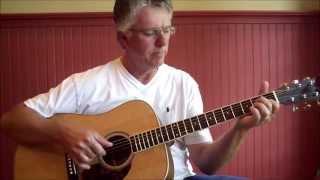 South City Midnight Lady - Doobie Bros. guitar lesson open G