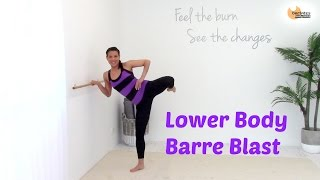 BALLET BARRE WORKOUT THIGHS - Barlates Lower Body Barre Blast with Linda Wooldridge by Linda Wooldridge