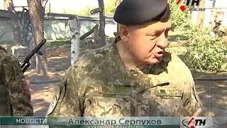 В харьковском институте танковых войск обустроили учебную площадку - 22.09.2017