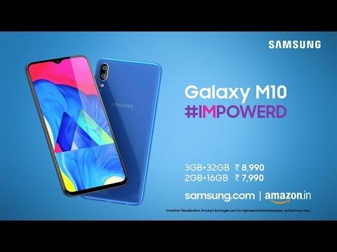 Samsung Galaxy M10: #IMPOWERD
