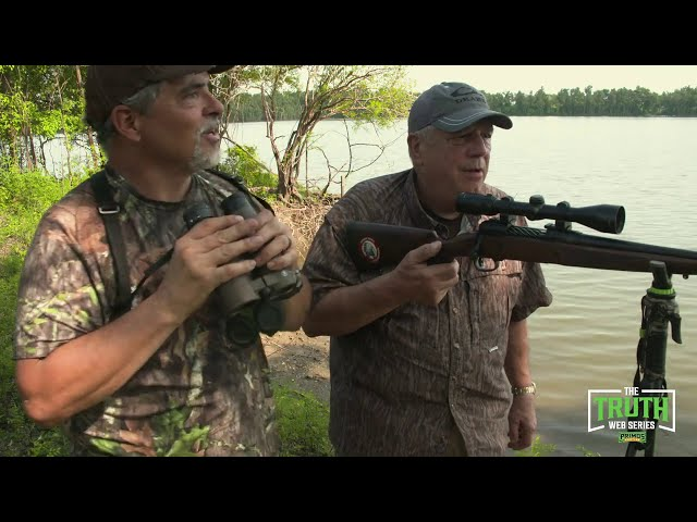 TRUTH Web Series Episode 11- Jimmy Primos Hunts a Big Alligator At Cottonmouth