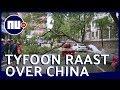 Flinke schade door tyfoon Bailu | NU.nl