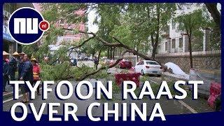 Flinke schade door tyfoon Bailu   NU.nl