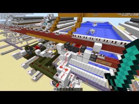 Vertically Stackable Iron Golem Farm Concept for Minecraft 1.8 (128+ villages, snapshot 14w21b)