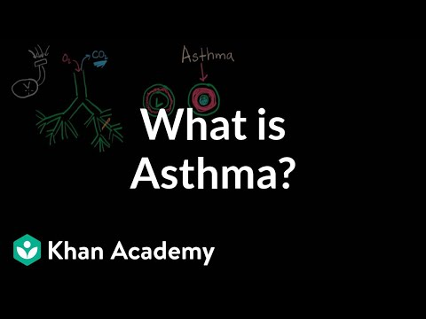 Video What is asthma? | Respiratory system diseases | NCLEX-RN | Khan Academy