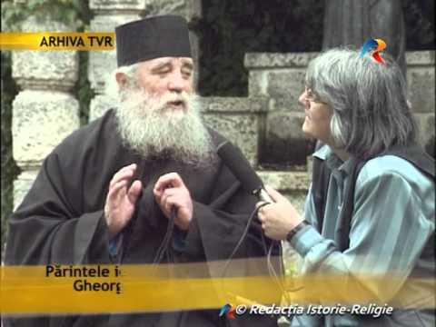 Pr. Gheorghe Gamaliil Boboc din Muntele Athos la emisiunea Universul credinței, TVR