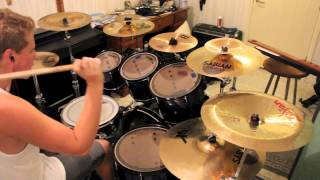Chelsea Grin - My damnation Drum Cover Adam Björk