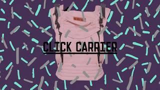 ByKay Click Carrier csatos hordozó felrakása előre
