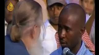 Он принял ислам  очень трогательное зрелище