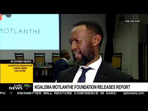 Kgalema Motlanthe foundation releases report