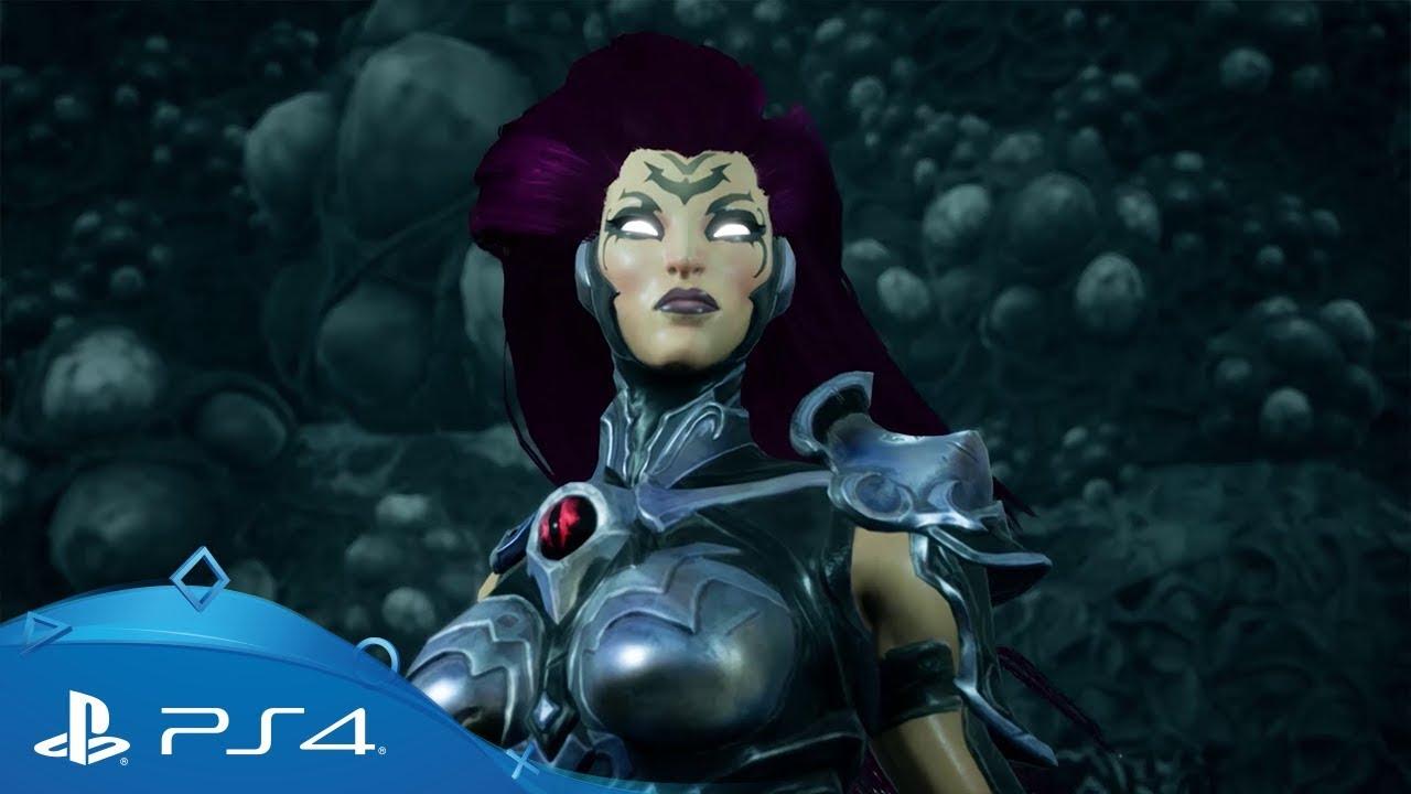 Furia, la protagonista di Darksiders III, brandisce una frusta composta da 347 lame