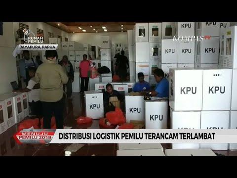 Distribusi Logistik Pemilu di Jayapura Terancam Terlambat