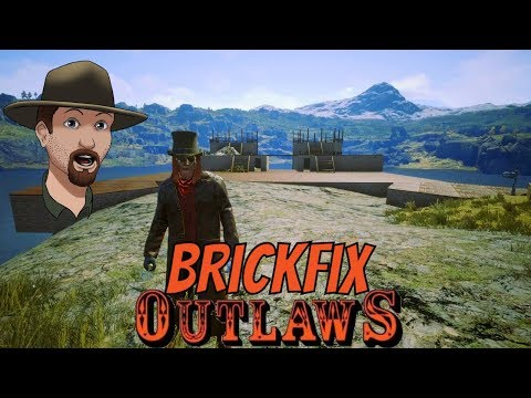 Castle Rock Brick Fix- OUTLAWS of the Old West