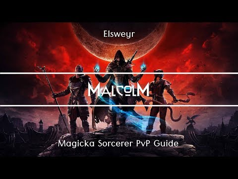 Complete MagSorc Guide to PvP in Elsweyr - Build links