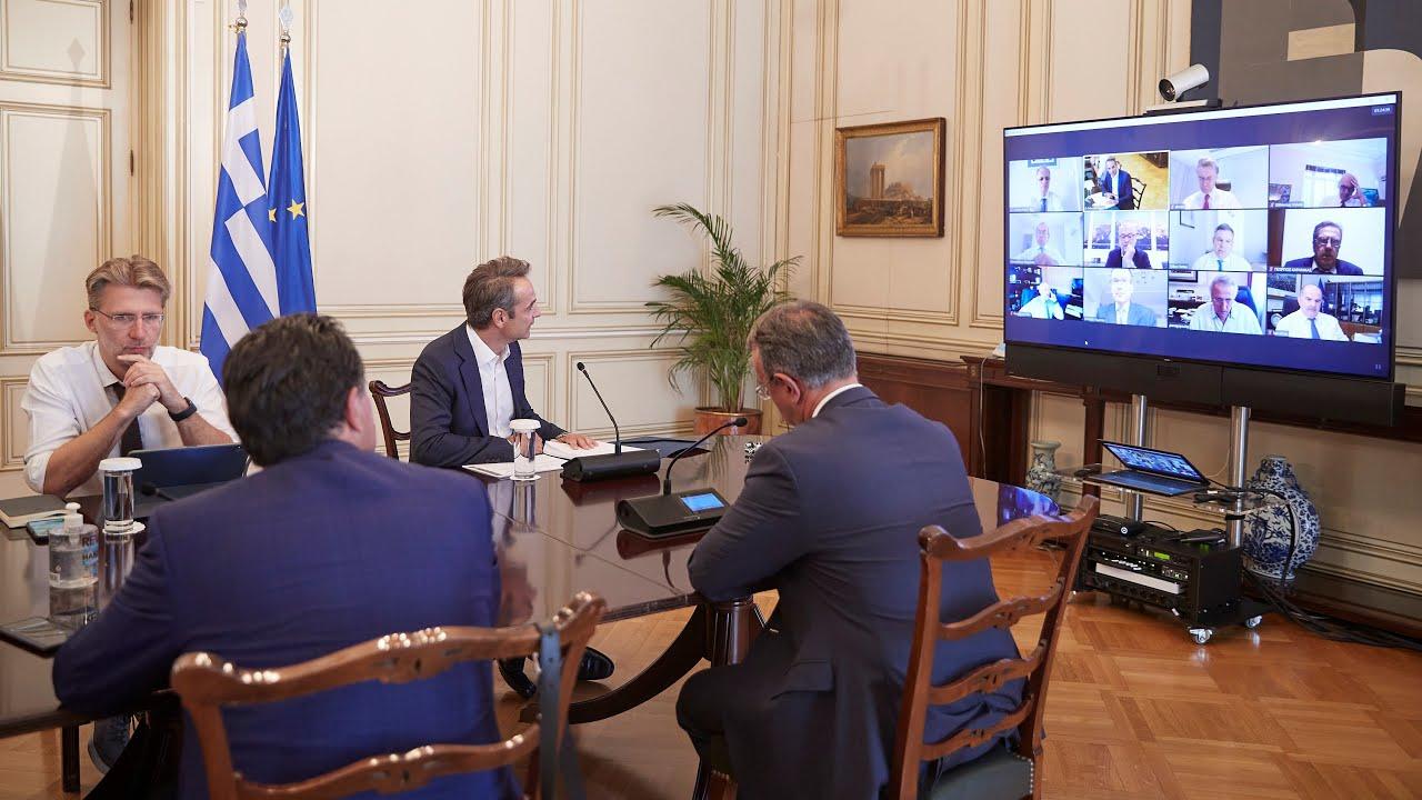 Tηλεδιάσκεψη για την παρουσίαση του Σχεδίου Ανάπτυξης της Ελληνικής Οικονομίας