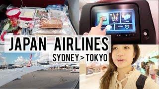 Flying Japan Airlines JAL | Sydney to Tokyo Narita