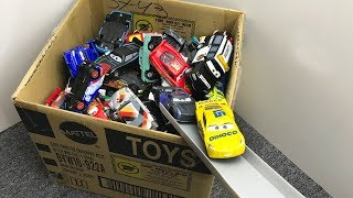 Box of Toys Cars 3 Treck Racers Lightning McQueen - Гоночные машины Тачки 3 - Kids toy videos