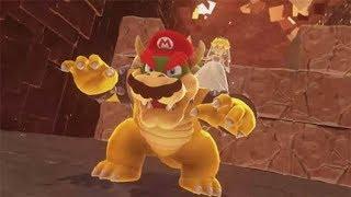 Super Mario Final Boss + Secret Ending!