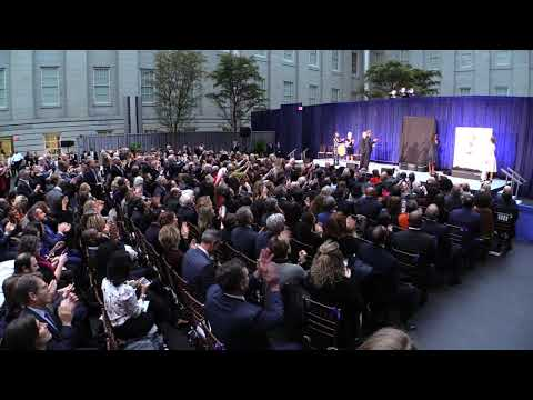 Obama Portrait Unveiling at the Smithsonian's National Portrait Gallery