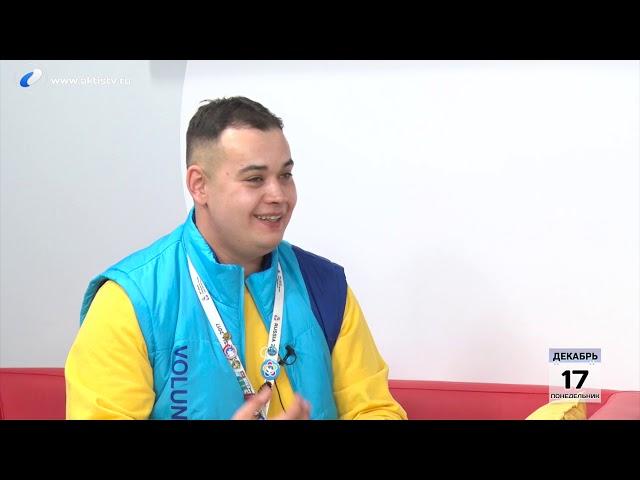 Гость программы «Новый день» Антон  Ермарков
