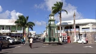 preview picture of video 'Basseterre, St. Kitts - Downtown HD (2013)'