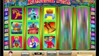 Игровой автомат Russian Fair в казино AURORA