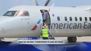 Last turboprop plane departs out of Tri-Cities Airport