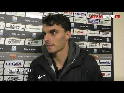 Pistoiese-Arezzo 1-1, intervista a Tassi