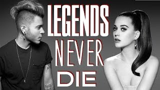Ferras feat. Katy Perry - Legend Never Die (Lyrics On Screen HQ) OFFICIAL AUDIO