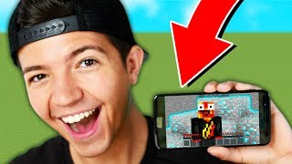 MINECRAFT POCKET EDITION PARKOUR! with PrestonPlayz & Rage
