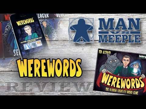 Werewords Review by Man Vs Meeple