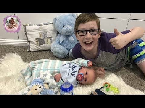 A BOY & HIS REBORN DOLL - A SPECIAL NIGHT ROUTINE