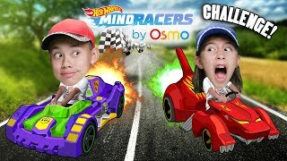 Osmo MindRacers CHALLENGE!!! Hot Wheels Come to Life!