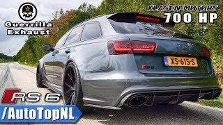 AUDI RS6 Guerilla Exhaust STRAIGHT PIPE - INSANELY LOUD by AutoTopNL