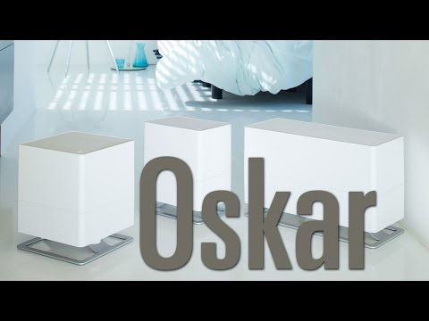 YouTube video about the humidifier Oskar by Stadler Form