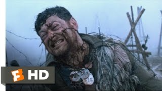 Deathwatch (2002) - Living Barbed Wire Scene (9/11) | Movieclips