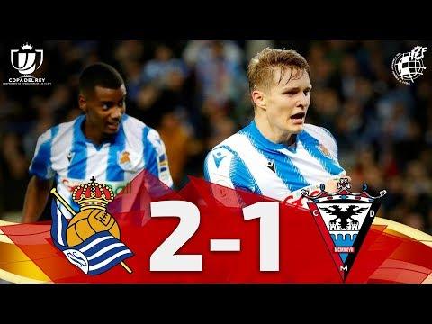 Real Sociedad San Sebastian 2-1 Club Deportivo Mir...